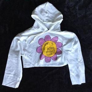 🎉SALE🎉 NEW Jac Vanek Perfect Cropped Sweatshirt for sale